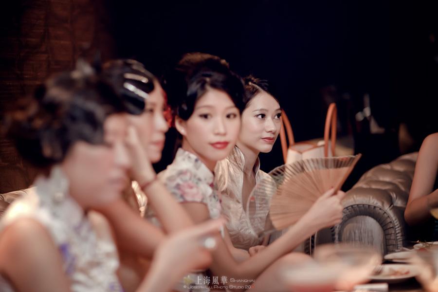 上海风华奢华之夜——旗袍美女相聚夜上海