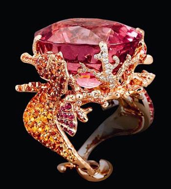 指尖彩色精灵 可爱小动物珠宝