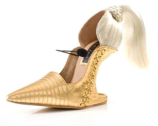 奇趣高跟鞋设计 设计师的灵感迸发