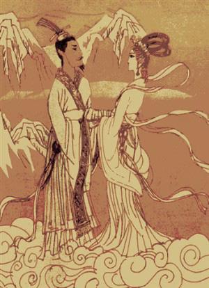 西王母和周穆王的爱情神话