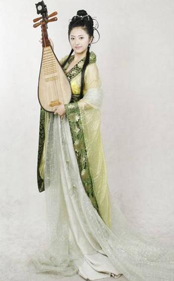中国古代女性服饰的美图片