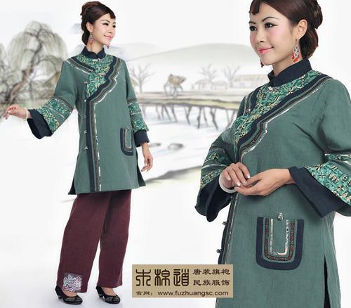 中式服装品牌:木棉道