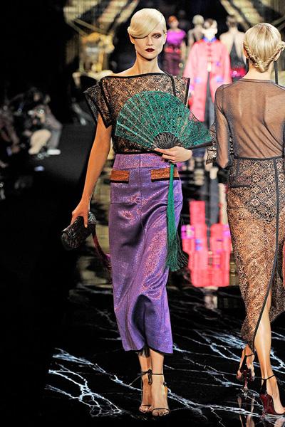 旗袍,设计师的灵感来源
