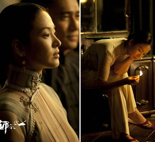 章子怡淫乱故事_章子怡张柏芝宋慧乔 谁能穿出旗袍的东方韵味?