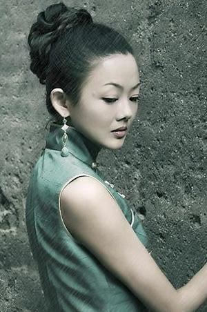 旗袍发型图片集锦 图解最美10款旗袍发型