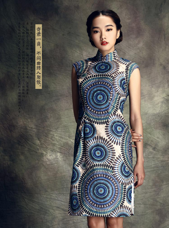 红馆优雅绝美旗袍:江南