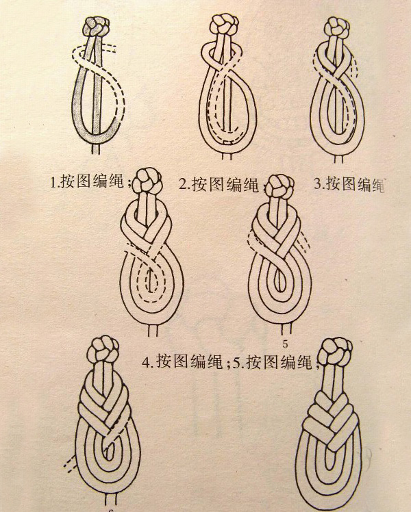 旗袍盘扣的编法