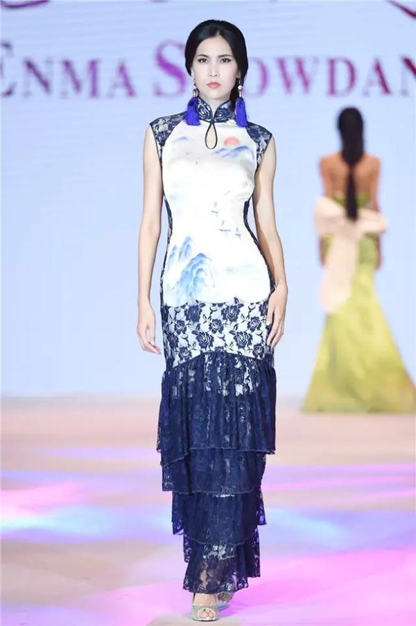 恩玛秀丹·高丽新2015旗袍发布会