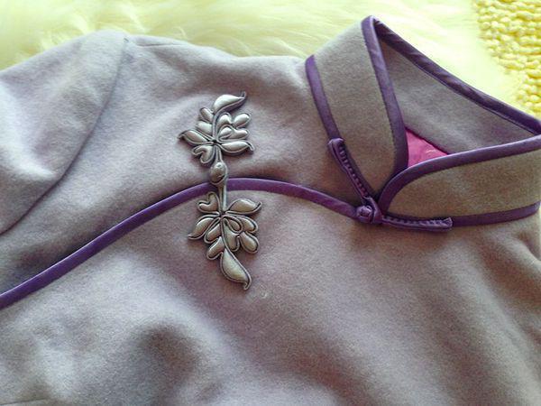 旗袍工艺   领、袖、襟、绲、衩
