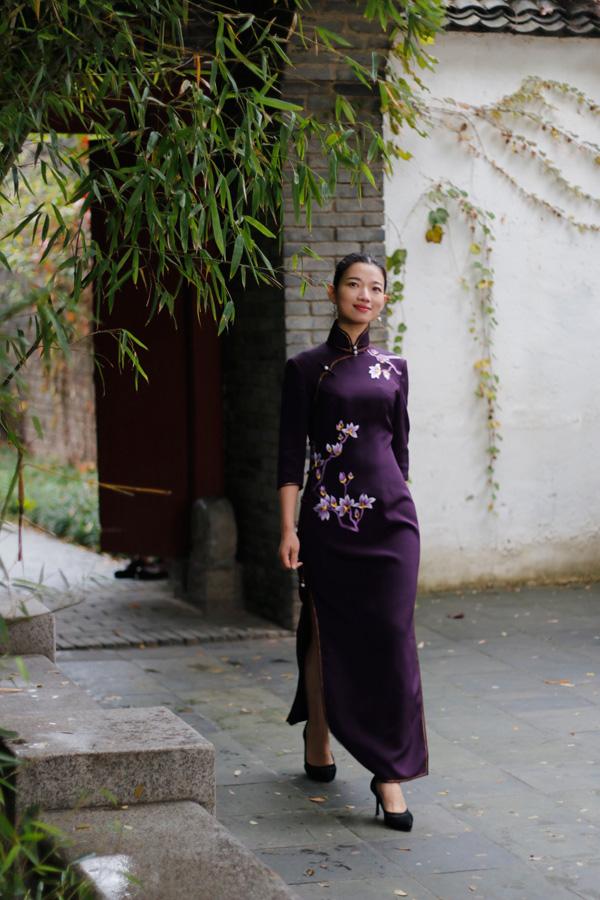 2015寻找中国美系列番外 深秋旗袍搭配大全