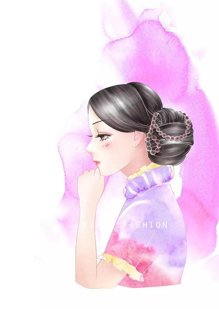 旗袍巧搭配——简单穿出艺术气质