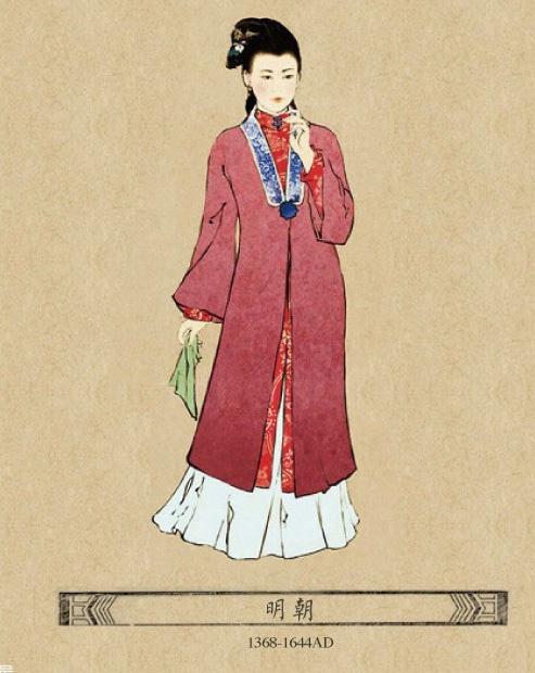 中国古代美女服饰,你最喜欢哪一款?