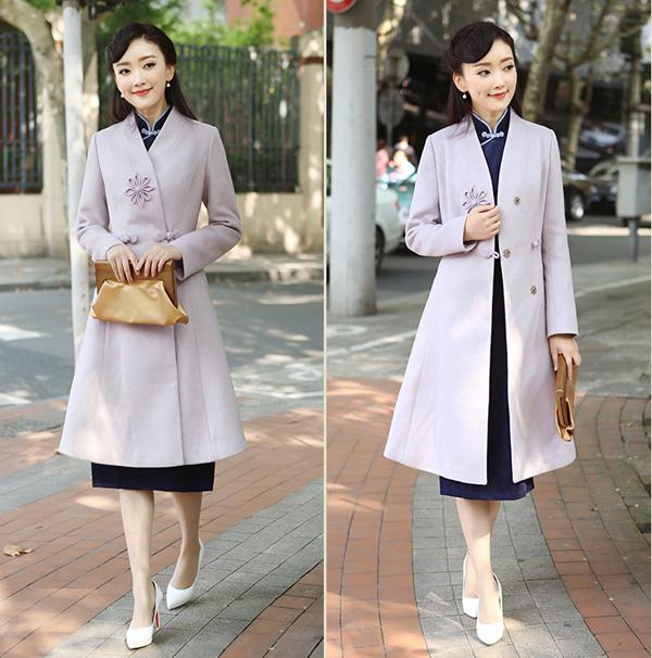 看一看怎样低调优雅的穿旗袍?