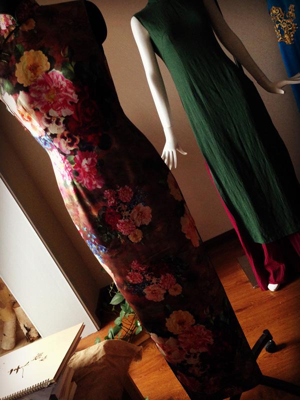 西安针脚里的时光旗袍工作室