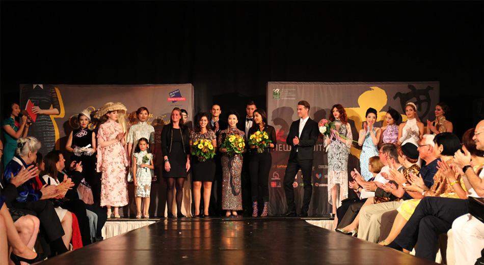 穿越时空的霓虹——中欧时装秀10日晚在柏林阿德隆酒店举行