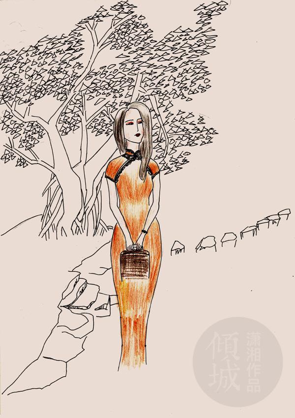 [珍藏]给旗袍姑娘,最上镜的N种拍照美姿
