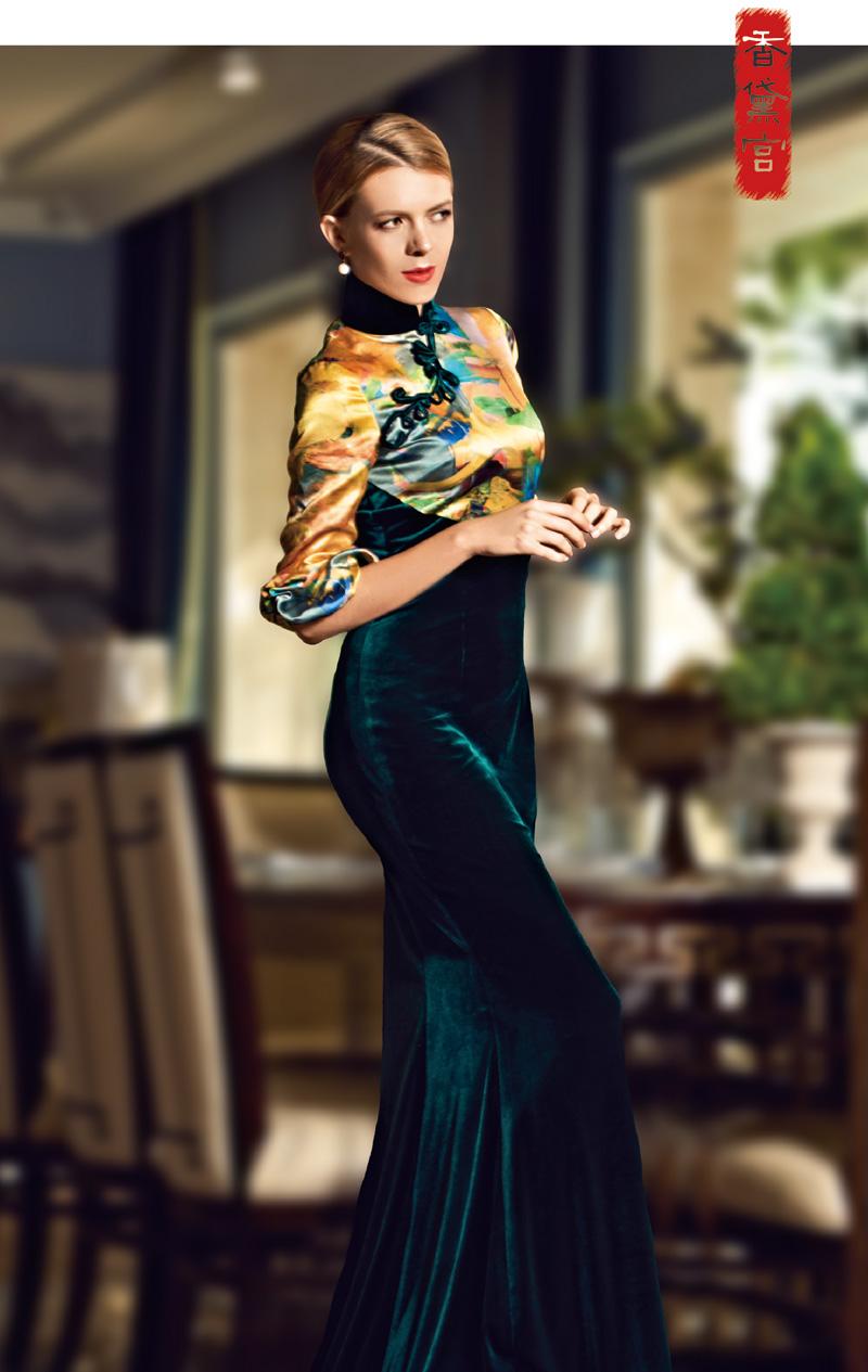 龚航宇:旗袍,都在复刻她的过去,可曾想给她一个未来?