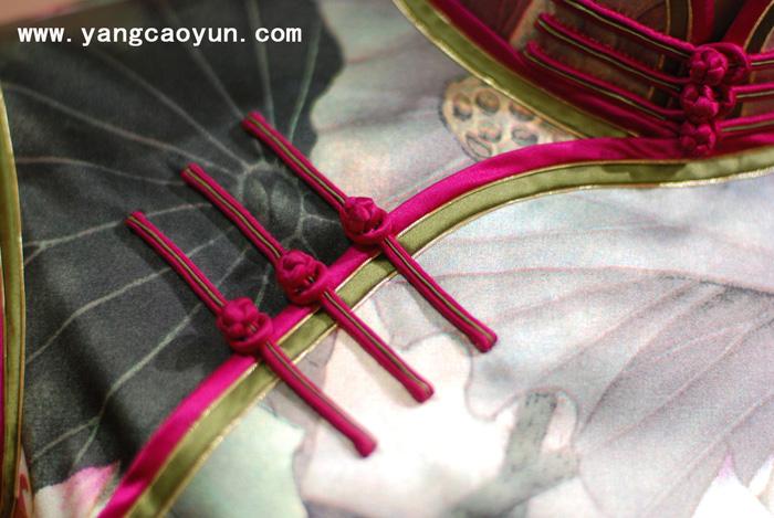 杨先生品牌传统旗袍制作培训课程开始招生