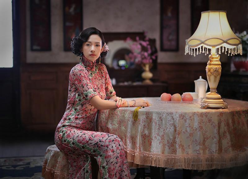 章子怡致敬《胭脂扣》 旗袍造型风华绝代