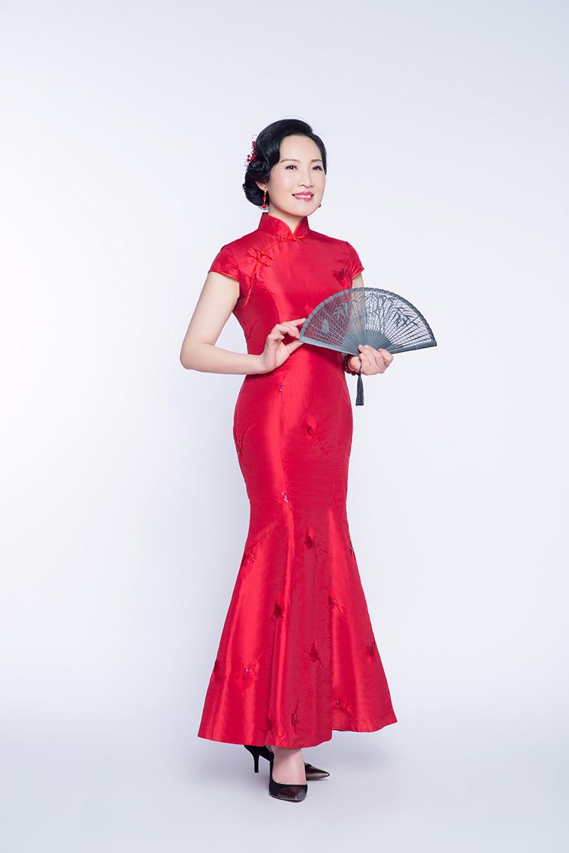 俊子:我的旗袍情怀