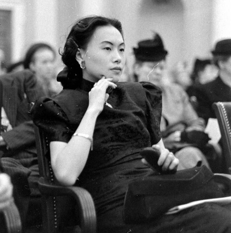"""陈香梅去世,她还原了""""飞虎队""""的历史形象"""