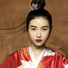 张辛苑古风仕女写真 古香古色古典美人