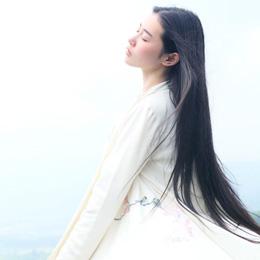 国民美女张辛苑古典汉服写真