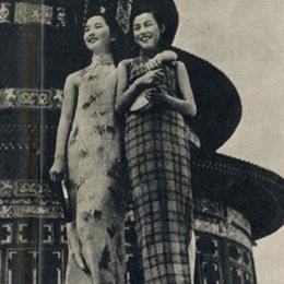 民国女子的旗袍风采