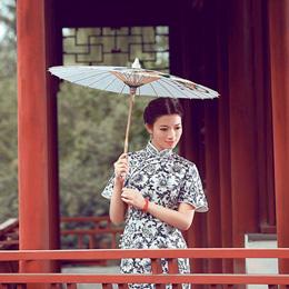 2011寻找中国美冠军周立言旗袍写真《…