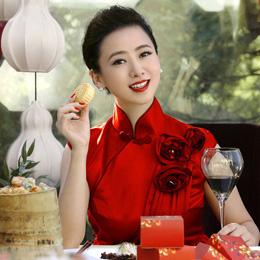中西合璧:翁虹的旗袍情结