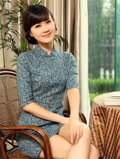 陶玉梅旗袍