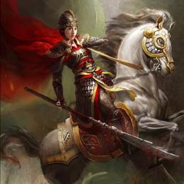 《杨门女将》概念图 张柏芝领衔娘子军