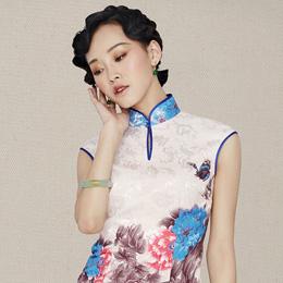 红馆复古旗袍:燕歌行