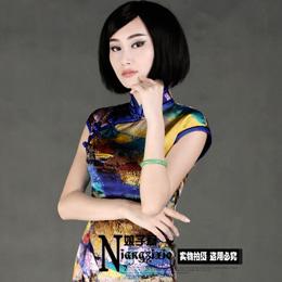 娘子写时尚新款旗袍:印象