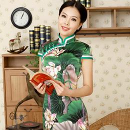 逸福2014新款复古旗袍
