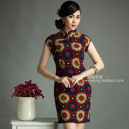 丝路嘉和新款旗袍:琉璃彩