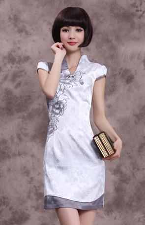 唐之彩旗袍