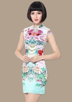 沐兰风韵旗袍