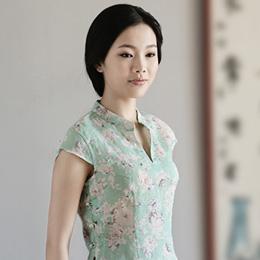 拈花微笑淡雅中式上衣