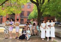 民国风毕业季:苏州大学旗袍别样毕业照