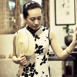 一布旗袍:展现着东方女人的极致与曲…