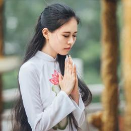 中国风摄影:求佛