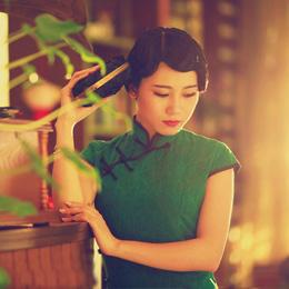 旗袍摄影:浮生半醒