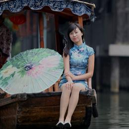 旗袍摄影:江南好,最忆是南浔。