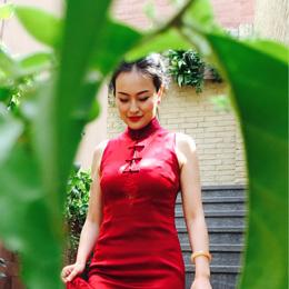 旗袍摄影:闺蜜&时光