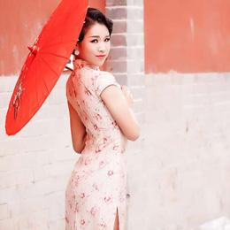 旗袍摄影:蜜恋旗袍