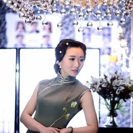旗袍摄影:风韵