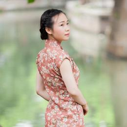 旗袍摄影:夏至