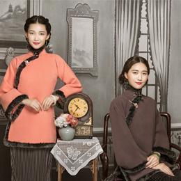 红馆经典中式改良旗袍