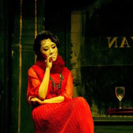 梨涡浅笑的她穿起旗袍更是风情万种,无人能及!